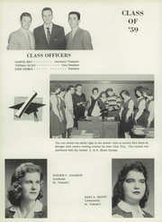 Page 16, 1959 Edition, St Vincents High School - Depaulore Yearbook (Plymouth, PA) online yearbook collection