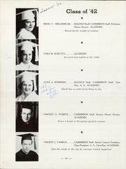 Page 16, 1942 Edition, St Casimir High School - Casmirron Yearbook (Pittsburgh, PA) online yearbook collection