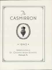 Page 7, 1942 Edition, St Casimir High School - Casmirron Yearbook (Pittsburgh, PA) online yearbook collection