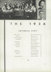 Page 12, 1936 Edition, Hummelstown High School - Tatler Yearbook (Hummelstown, PA) online yearbook collection