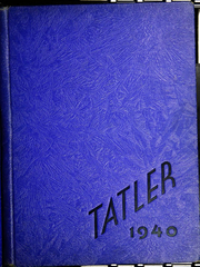 Page 1, 1940 Edition, Hummelstown High School - Tatler Yearbook (Hummelstown, PA) online yearbook collection