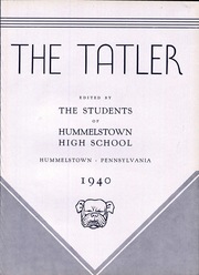 Page 7, 1940 Edition, Hummelstown High School - Tatler Yearbook (Hummelstown, PA) online yearbook collection
