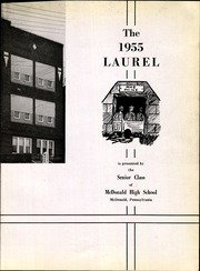 Page 7, 1955 Edition, McDonald High School - Laurel Yearbook (McDonald, PA) online yearbook collection
