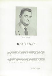 Page 9, 1958 Edition, Tremont High School - Memoria Yearbook (Tremont, PA) online yearbook collection