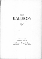 Page 2, 1944 Edition, Millcreek High School - Kaldron Yearbook (Erie, PA) online yearbook collection