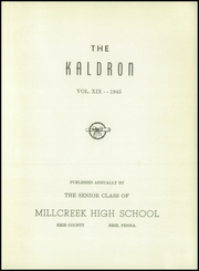 Page 5, 1945 Edition, Millcreek High School - Kaldron Yearbook (Erie, PA) online yearbook collection