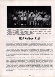 Page 54, 1953 Edition, Millcreek High School - Kaldron Yearbook (Erie, PA) online yearbook collection