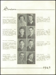 Page 13, 1943 Edition, Youngwood High School - Maroon and White Yearbook (Youngwood, PA) online yearbook collection