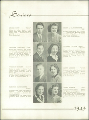 Page 14, 1943 Edition, Youngwood High School - Maroon and White Yearbook (Youngwood, PA) online yearbook collection