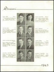 Page 15, 1943 Edition, Youngwood High School - Maroon and White Yearbook (Youngwood, PA) online yearbook collection