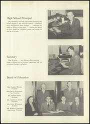 Page 11, 1950 Edition, Youngwood High School - Maroon and White Yearbook (Youngwood, PA) online yearbook collection