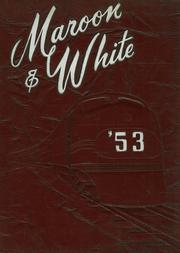 Page 1, 1953 Edition, Youngwood High School - Maroon and White Yearbook (Youngwood, PA) online yearbook collection