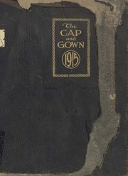 University of the South - Cap and Gown Yearbook (Sewanee, TN) online yearbook collection, 1915 Edition, Page 1
