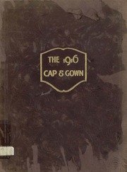University of the South - Cap and Gown Yearbook (Sewanee, TN) online yearbook collection, 1916 Edition, Page 1