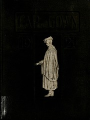 Page 1, 1921 Edition, University of the South - Cap and Gown Yearbook (Sewanee, TN) online yearbook collection