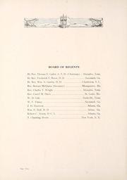 Page 14, 1921 Edition, University of the South - Cap and Gown Yearbook (Sewanee, TN) online yearbook collection