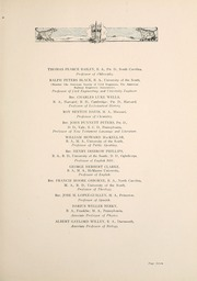 Page 17, 1921 Edition, University of the South - Cap and Gown Yearbook (Sewanee, TN) online yearbook collection