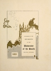 Page 5, 1921 Edition, University of the South - Cap and Gown Yearbook (Sewanee, TN) online yearbook collection
