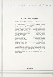 Page 12, 1933 Edition, University of the South - Cap and Gown Yearbook (Sewanee, TN) online yearbook collection