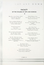 Page 16, 1933 Edition, University of the South - Cap and Gown Yearbook (Sewanee, TN) online yearbook collection