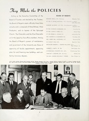 Page 10, 1953 Edition, University of the South - Cap and Gown Yearbook (Sewanee, TN) online yearbook collection