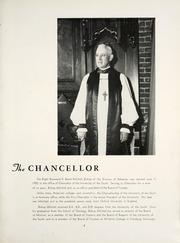 Page 11, 1953 Edition, University of the South - Cap and Gown Yearbook (Sewanee, TN) online yearbook collection