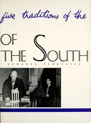 Page 7, 1955 Edition, University of the South - Cap and Gown Yearbook (Sewanee, TN) online yearbook collection