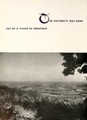Page 10, 1960 Edition, University of the South - Cap and Gown Yearbook (Sewanee, TN) online yearbook collection