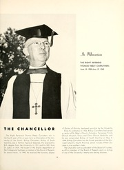 Page 17, 1960 Edition, University of the South - Cap and Gown Yearbook (Sewanee, TN) online yearbook collection