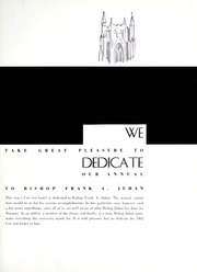 Page 7, 1962 Edition, University of the South - Cap and Gown Yearbook (Sewanee, TN) online yearbook collection