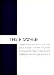 Page 9, 1962 Edition, University of the South - Cap and Gown Yearbook (Sewanee, TN) online yearbook collection