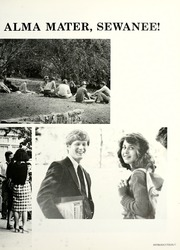 Page 11, 1982 Edition, University of the South - Cap and Gown Yearbook (Sewanee, TN) online yearbook collection