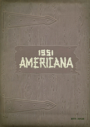 Page 1, 1951 Edition, Butler Township High School - Americana Yearbook (Fountain Springs, PA) online yearbook collection