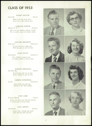 Page 13, 1953 Edition, Butler Township High School - Americana Yearbook (Fountain Springs, PA) online yearbook collection