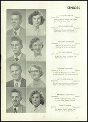 Page 14, 1953 Edition, Butler Township High School - Americana Yearbook (Fountain Springs, PA) online yearbook collection