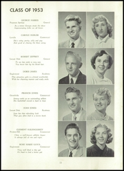 Page 15, 1953 Edition, Butler Township High School - Americana Yearbook (Fountain Springs, PA) online yearbook collection