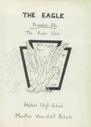 Page 5, 1958 Edition, Harford High School - Eagle Yearbook (Harford, PA) online yearbook collection
