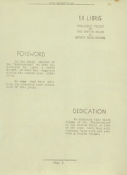 Page 5, 1940 Edition, Quincy High School - Quinconian Yearbook (Quincy, PA) online yearbook collection