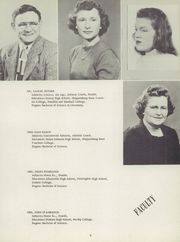 Page 9, 1952 Edition, Belleville Mennonite High School - Kish O Vale Yearbook (Belleville, PA) online yearbook collection