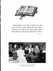 Page 5, 1961 Edition, Belleville Mennonite High School - Kish O Vale Yearbook (Belleville, PA) online yearbook collection
