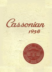 1958 Edition, Cass Township High School - Cassonian Yearbook (Minersville, PA)