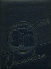 1954 Edition, Osceola Mills High School - Osceolian Yearbook (Osceola Mills, PA)