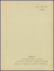 Page 3, 1941 Edition, North Wales High School - No Wa Hi Yearbook (North Wales, PA) online yearbook collection