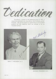 Page 14, 1955 Edition, Roosevelt High School - Banner Yearbook (Kulpmont, PA) online yearbook collection