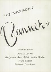 Page 7, 1955 Edition, Roosevelt High School - Banner Yearbook (Kulpmont, PA) online yearbook collection