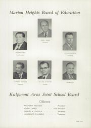 Page 9, 1955 Edition, Roosevelt High School - Banner Yearbook (Kulpmont, PA) online yearbook collection