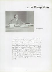 Page 13, 1955 Edition, Lower Paxton High School - Ranger Yearbook (Harrisburg, PA) online yearbook collection