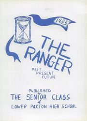 Page 9, 1955 Edition, Lower Paxton High School - Ranger Yearbook (Harrisburg, PA) online yearbook collection