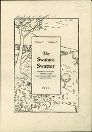 Page 3, 1923 Edition, Swatara High School - Yearbook (Oberlin, PA) online yearbook collection
