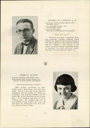 Page 7, 1923 Edition, Swatara High School - Yearbook (Oberlin, PA) online yearbook collection